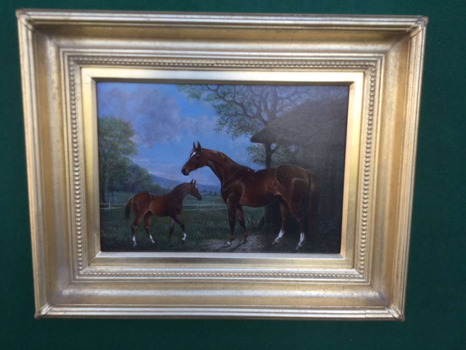 George W. Hutchinson - A mare and Foal